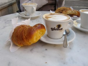 Breakfast in Rome, 2012