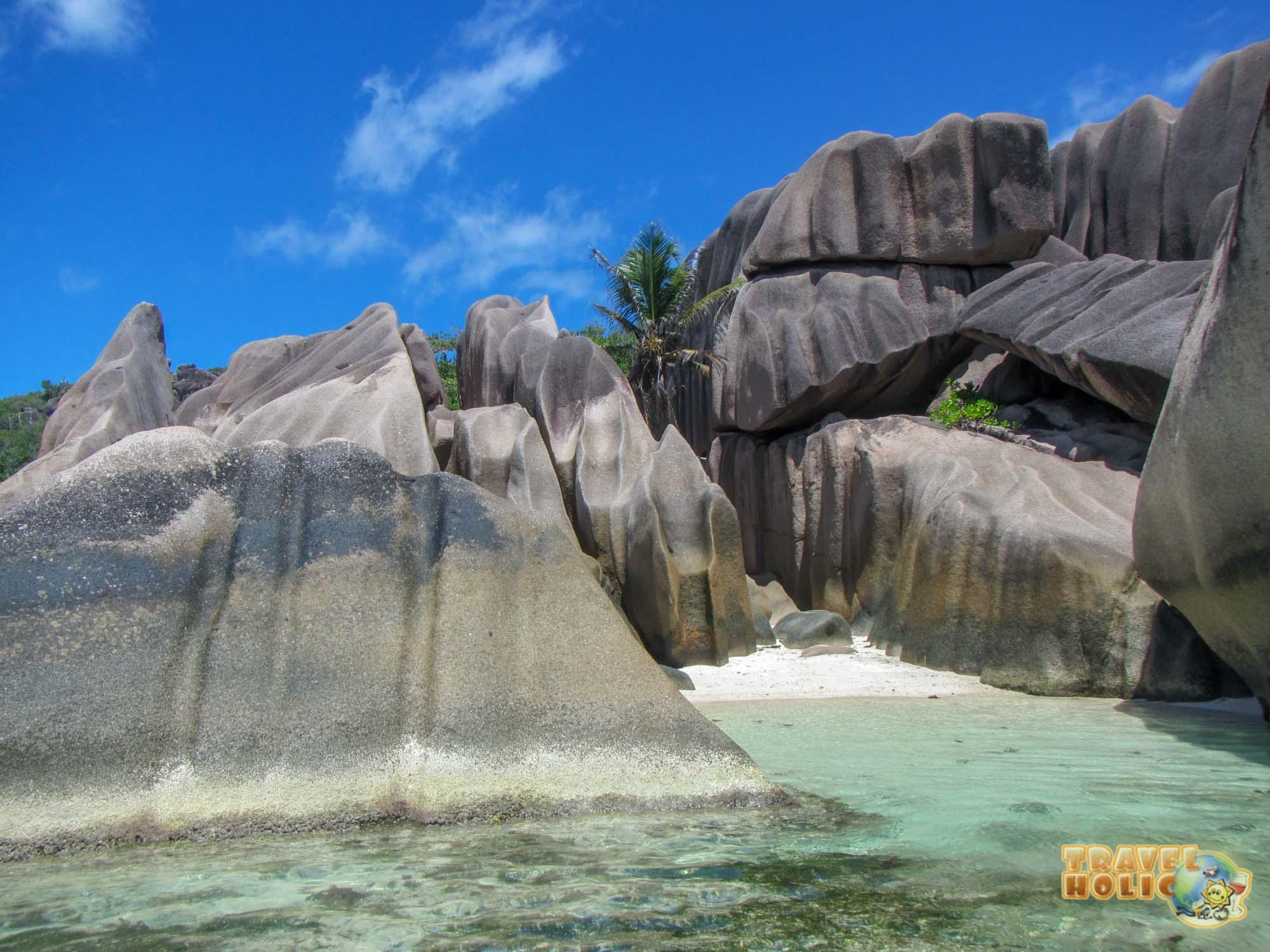 Plage d'Anse Source d'Argent, Seychelles