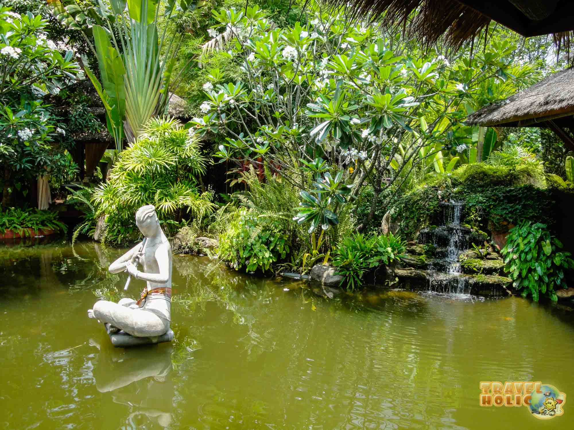 Le jardin du Zazen Boutique Resort & Spa à Koh Samui