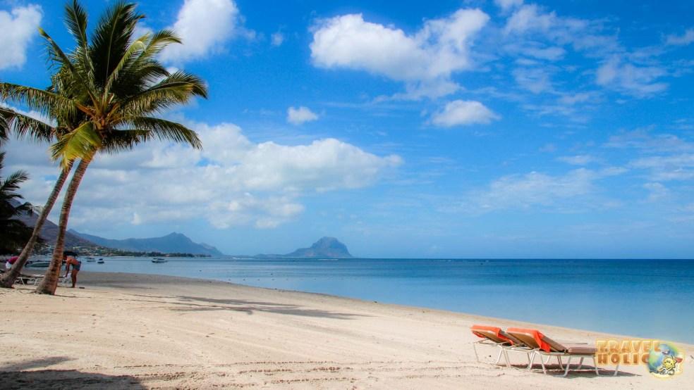Plage du Sugar Beach à l'Ile Maurice