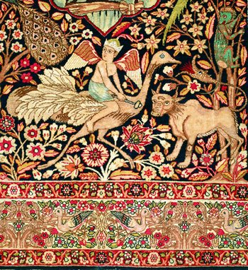 іранський килим