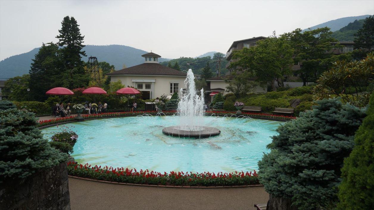 強羅公園噴水