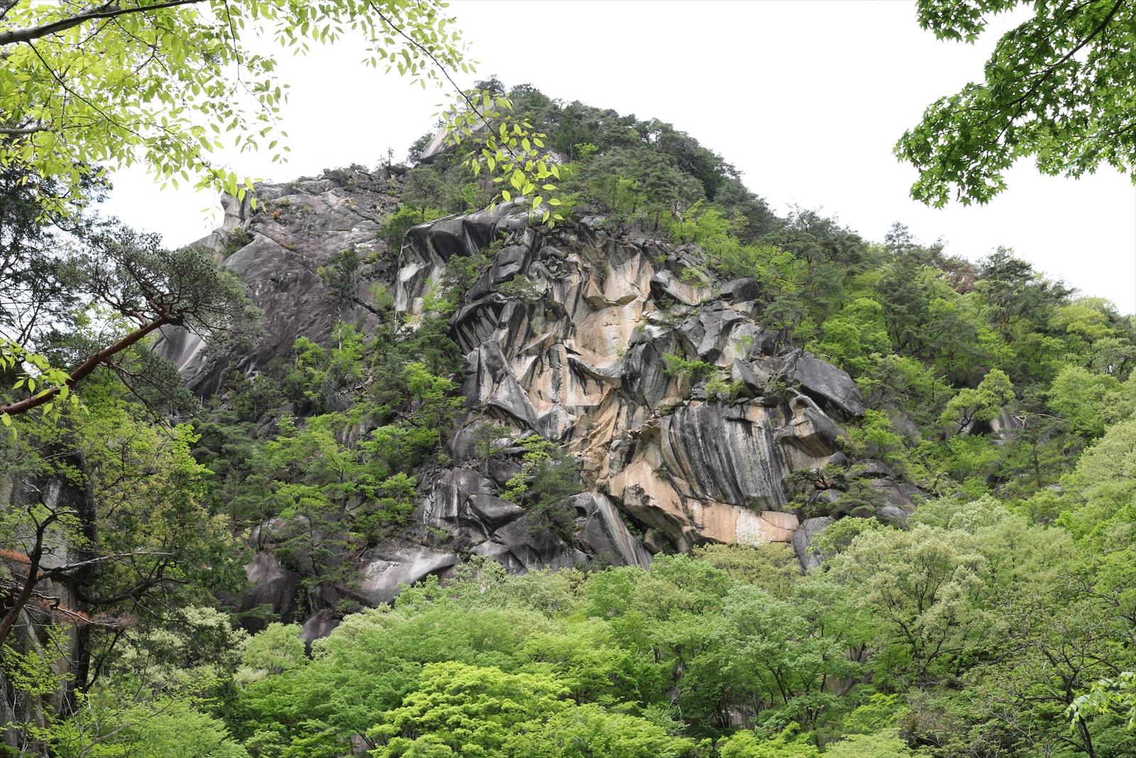 昇仙峡 天狗岩