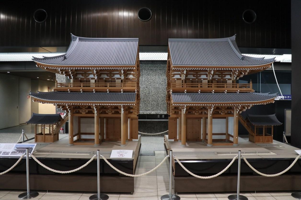 東福寺三門模型