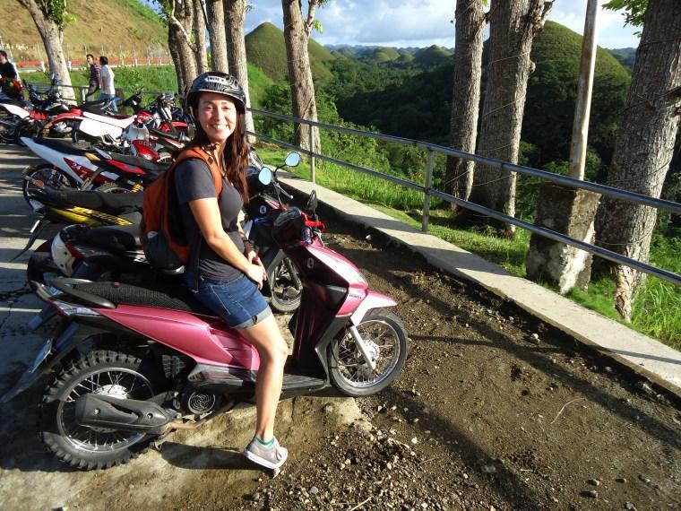 me on motorbike