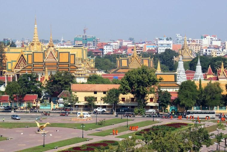skyline phnom penh