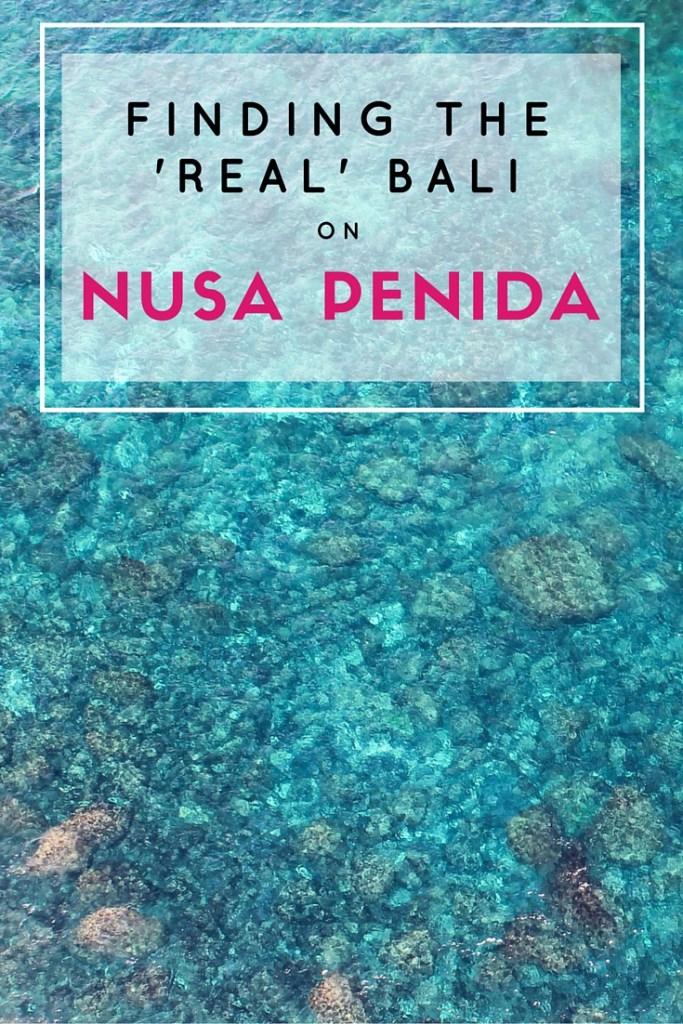 Traveling to Nusa Penida