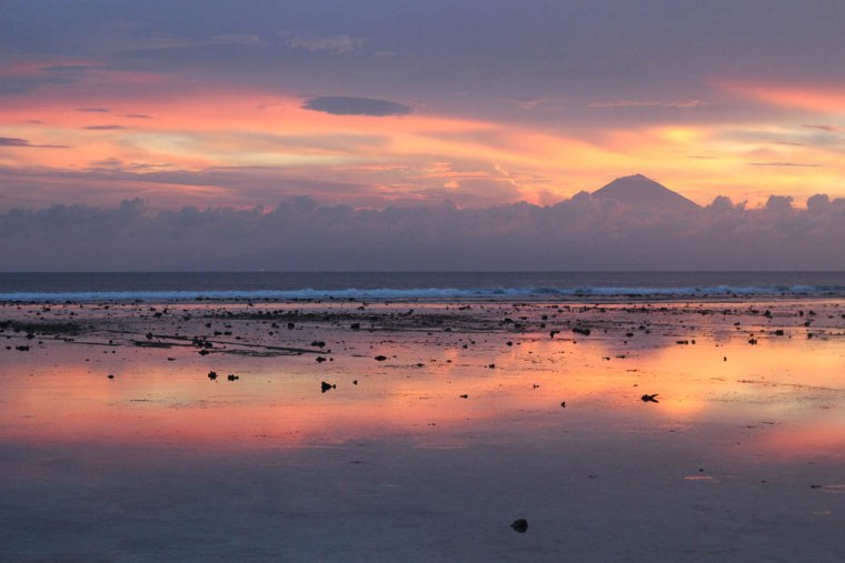 mount agung sunset gili trawangan indonesia (1 of 1)