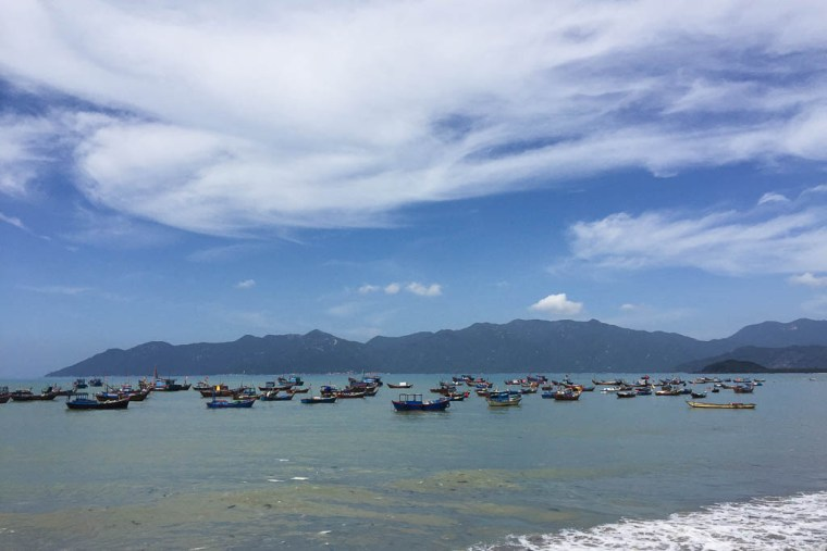 Beach in Nha Trang, Vietnam