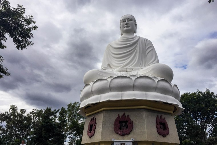 nha trang white buddha
