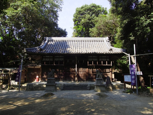 杜本神社 拝殿