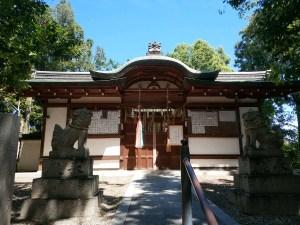 野々上八幡神社 拝殿