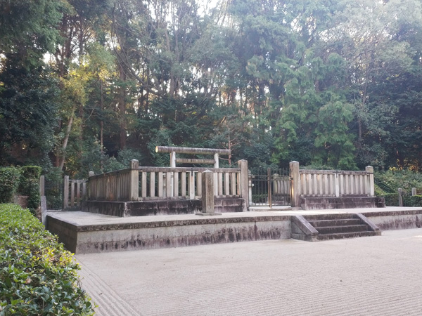太子西山古墳(敏達天皇陵)