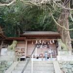 腰神神社の絵馬堂