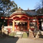 西代神社の拝殿
