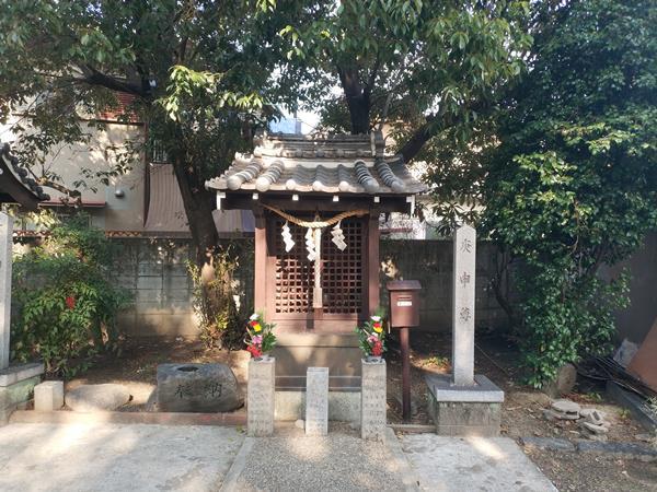 熱田神社の庚申尊