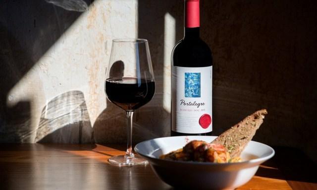 Португальское вино.