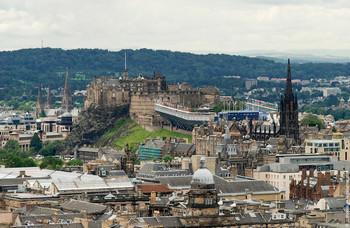 Эдинбург. Старый город