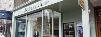 Магазин традиционной шотландской одежды The Scotland Shop.