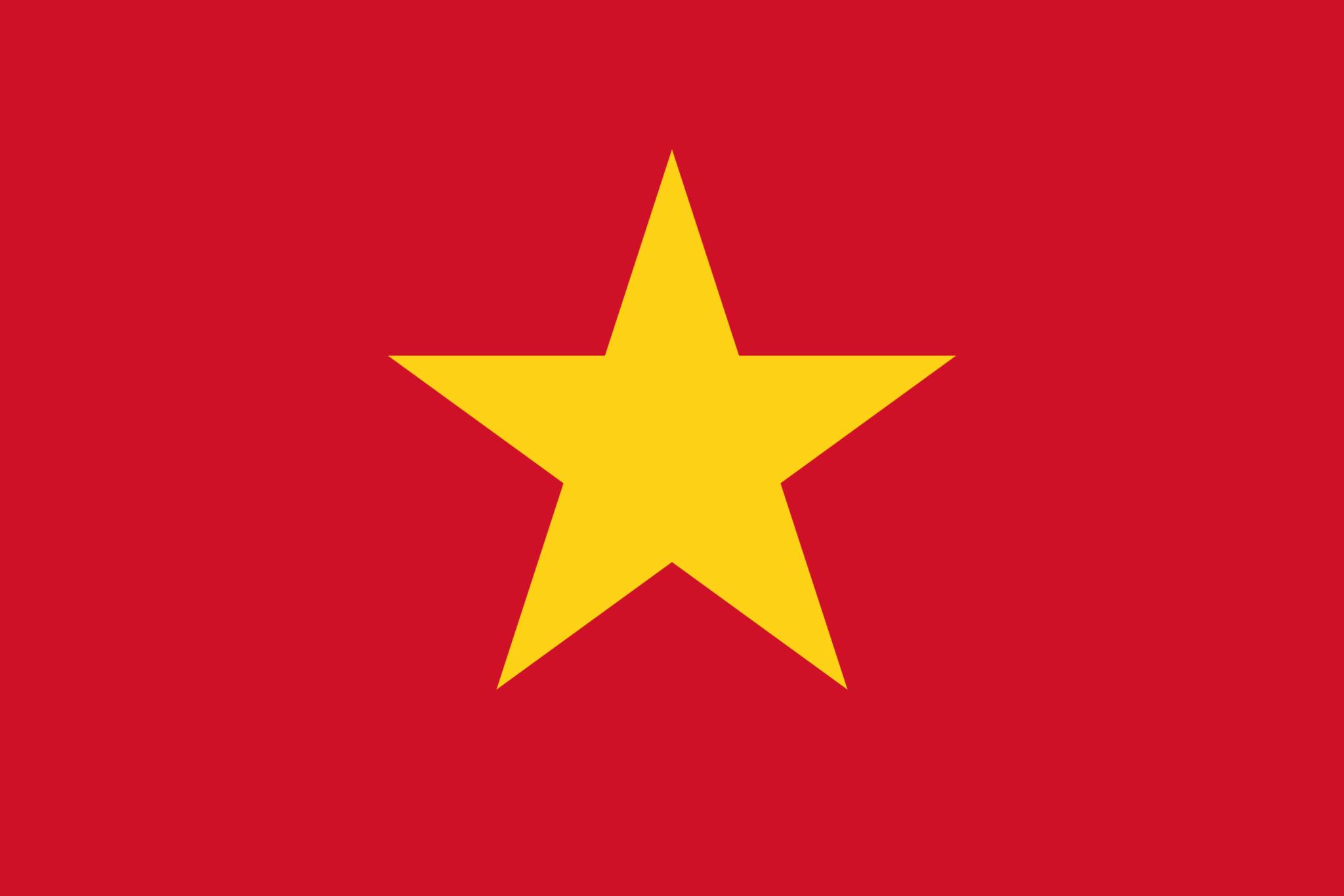 flaga wietnamu