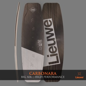 lieuwe carbonara big air kite board deska custom