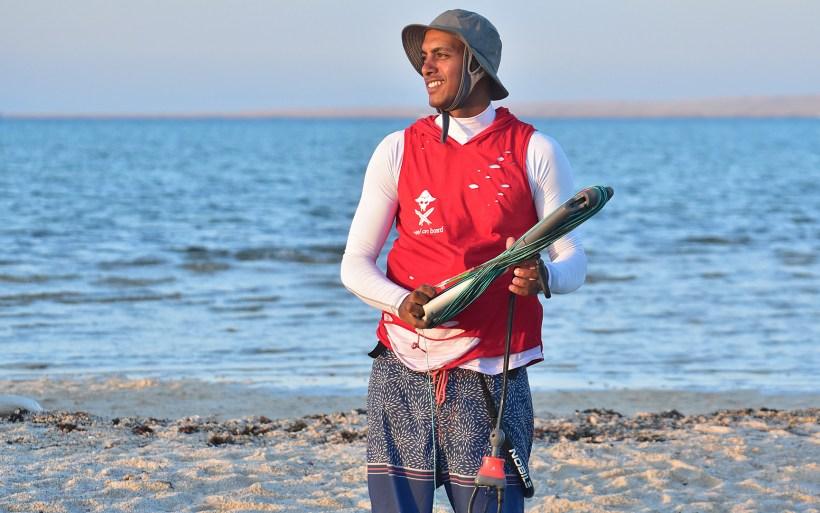 Haithem kitesurfing instructor