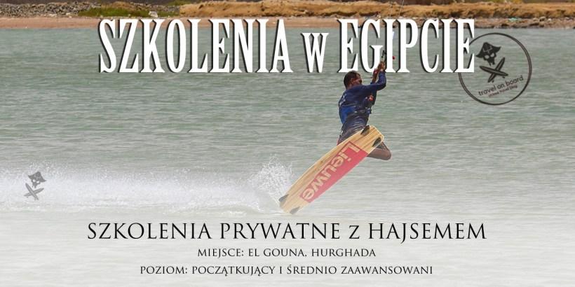 kitesurfing szkolenia kursy egipt el gouna hurgada