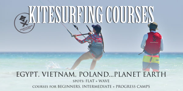 kitesurfing courses vietnam egypt poland worldwide