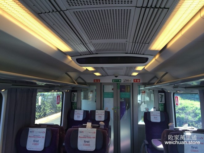 UK Train First Class英國火車@weichuanstore.com