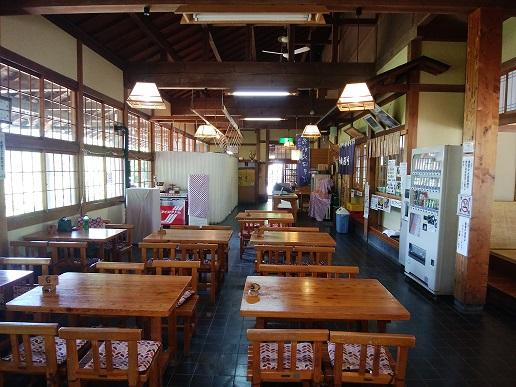 馬曲温泉 食堂