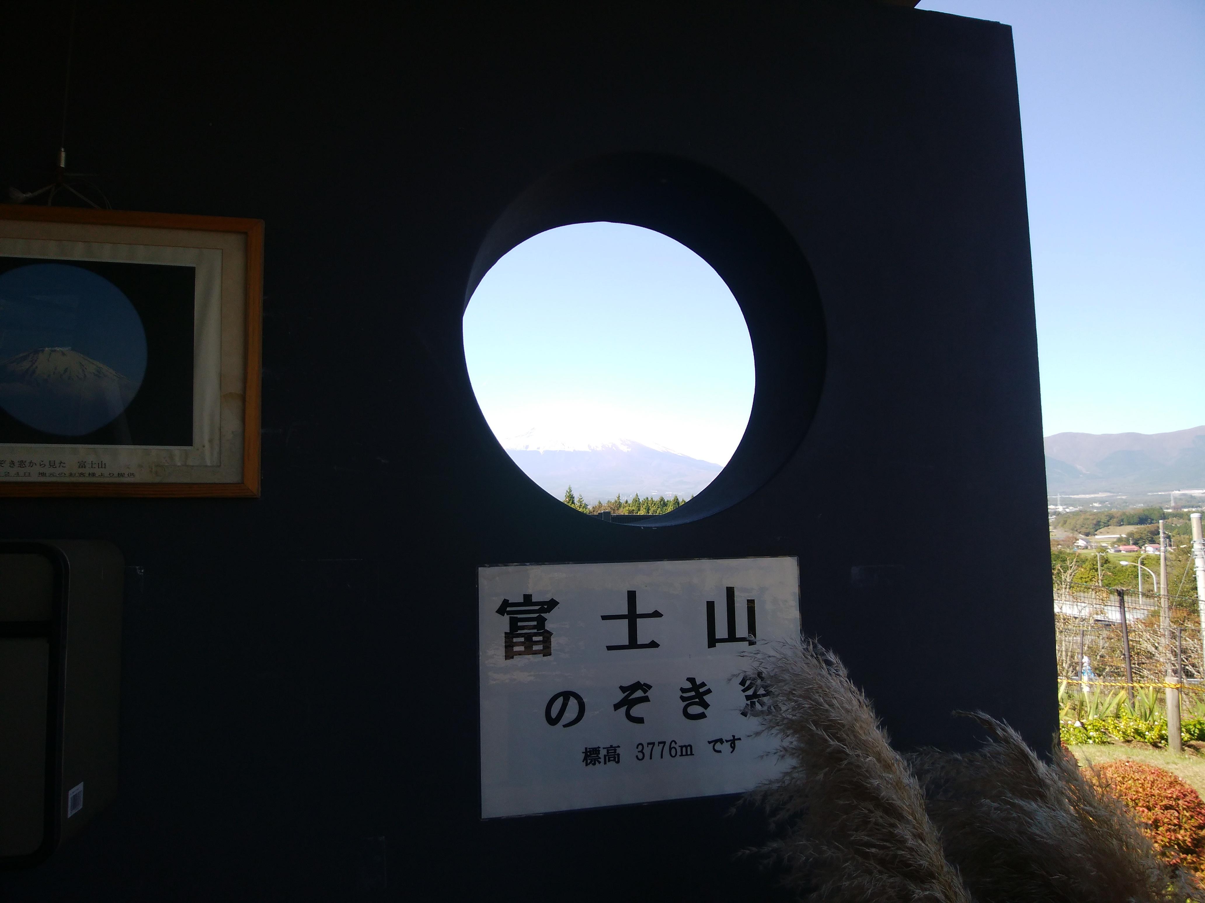 富士山のぞき窓