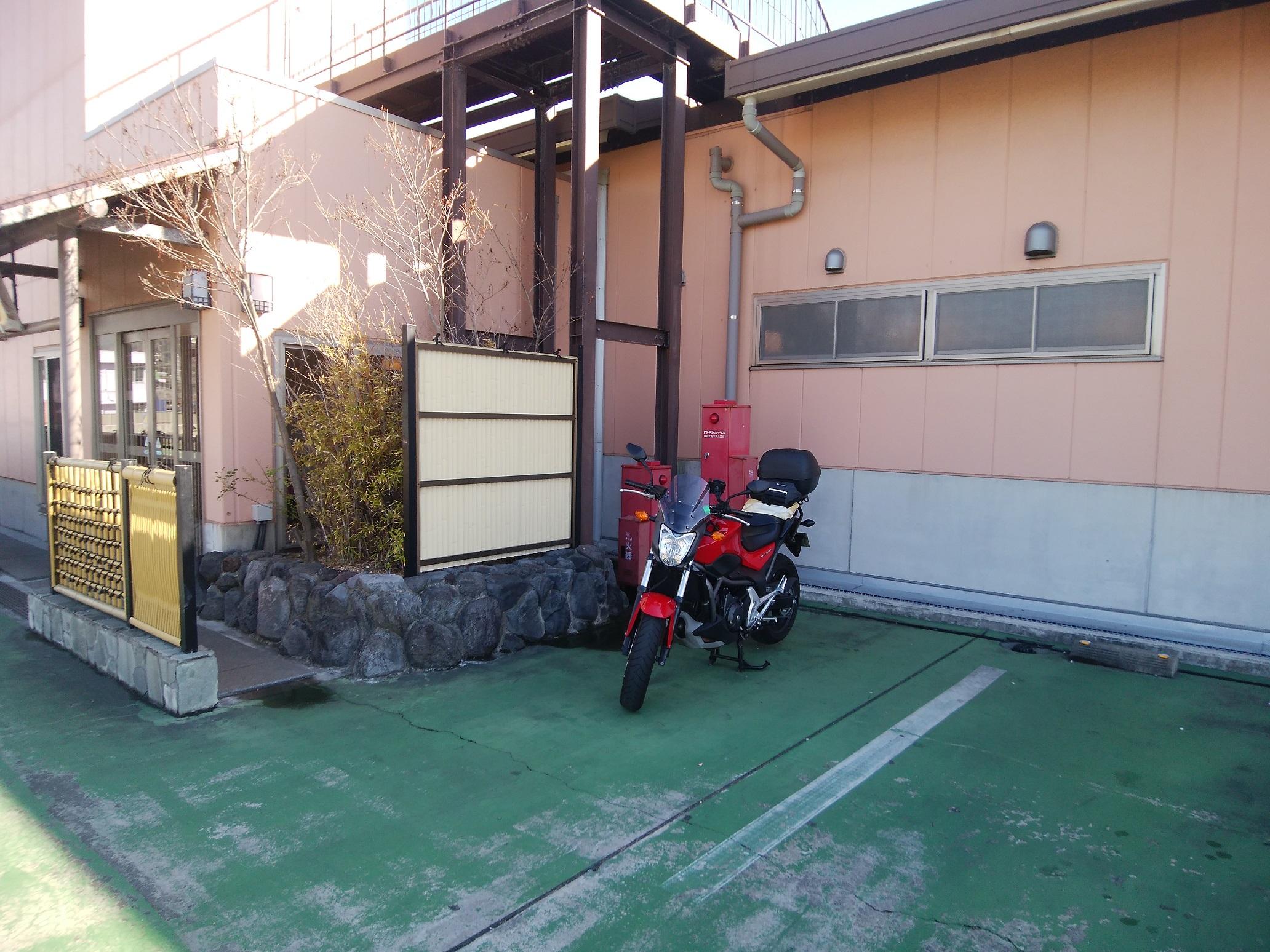 天然温泉ざぶーん3階駐車場