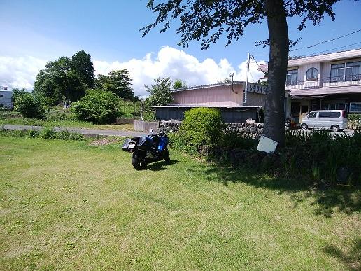 河口湖ハーブフェスティバル八木崎会場 二輪車駐車スペース