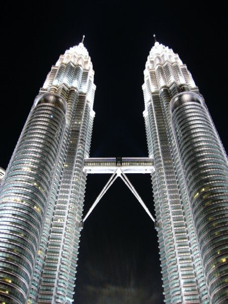 Fortunately, the Petronas Towers cost nothing to see...at least from the outside.