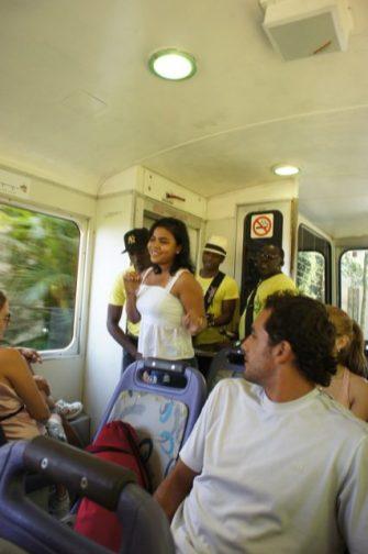 Samba on the Trem do Corcovado