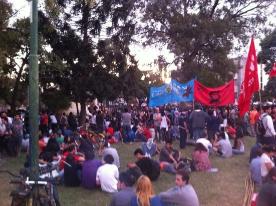 Peaceful gathering in Villa Belgrano