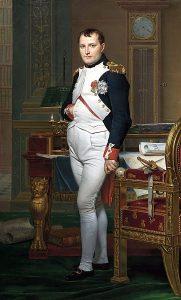 Napoleon Bonaparte (public domain image)