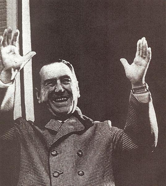 Juan Peron (public domain photo)