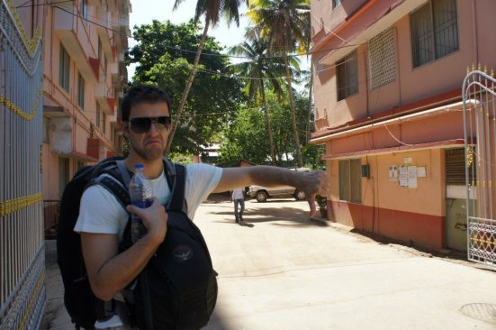Thumbs down for our stay at Amma's Ashram