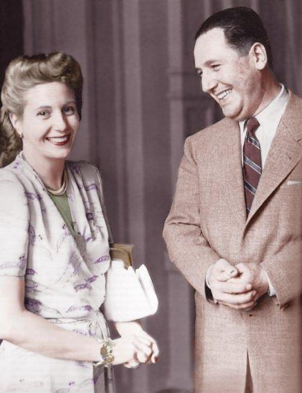 Juan Peron and Evita