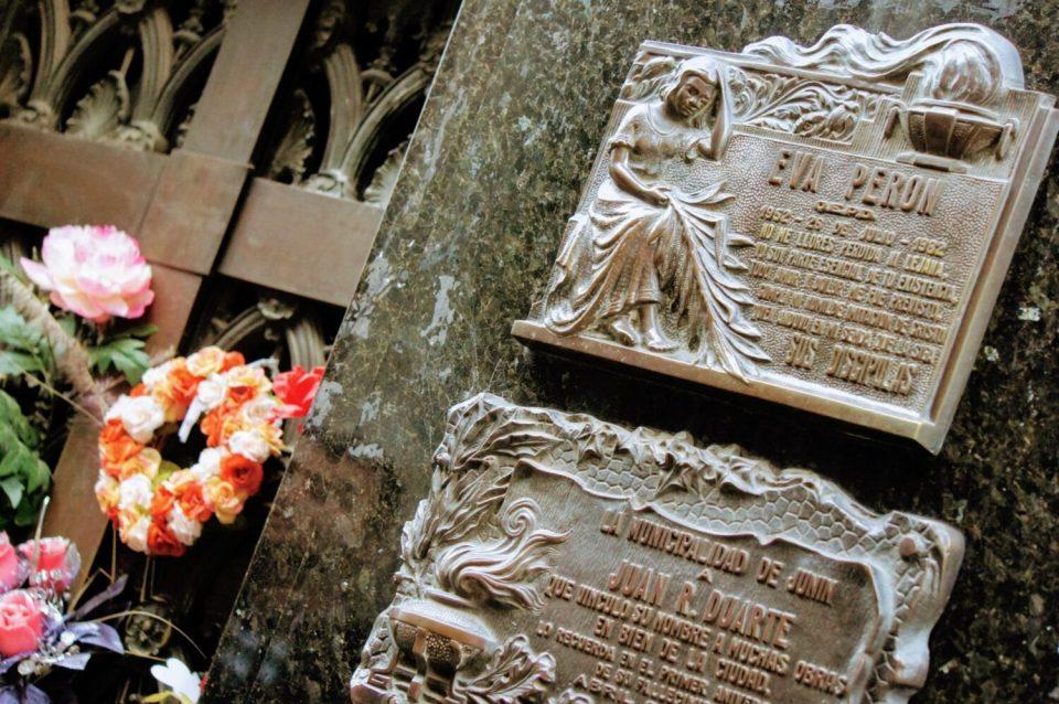 Eva Peron's tomb