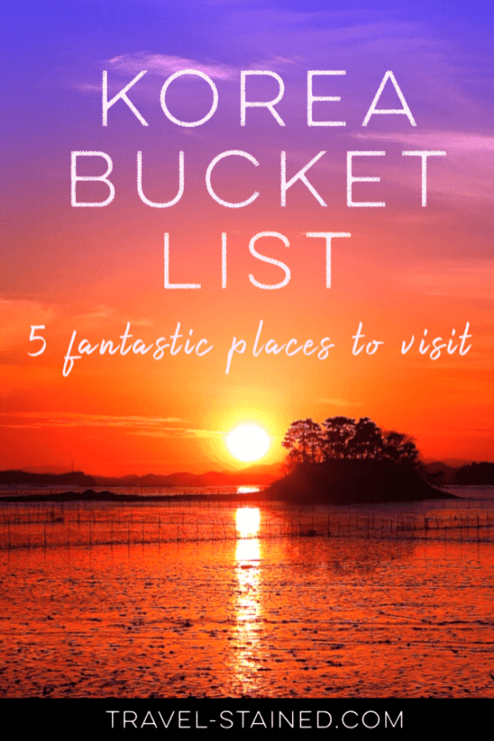 Korea bucket list, korea travel blog, korea trip blog