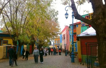 The colourful, but not entirely safe La Boca District