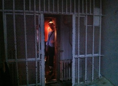 The real isolation cell of the prison