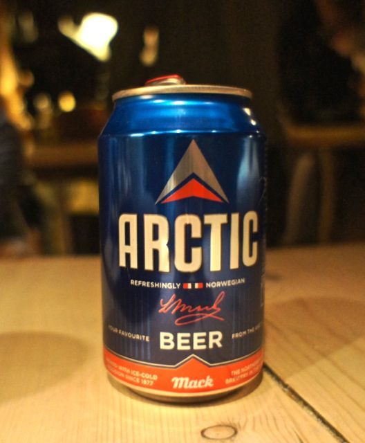 Beer from the northernmost brewery in the world