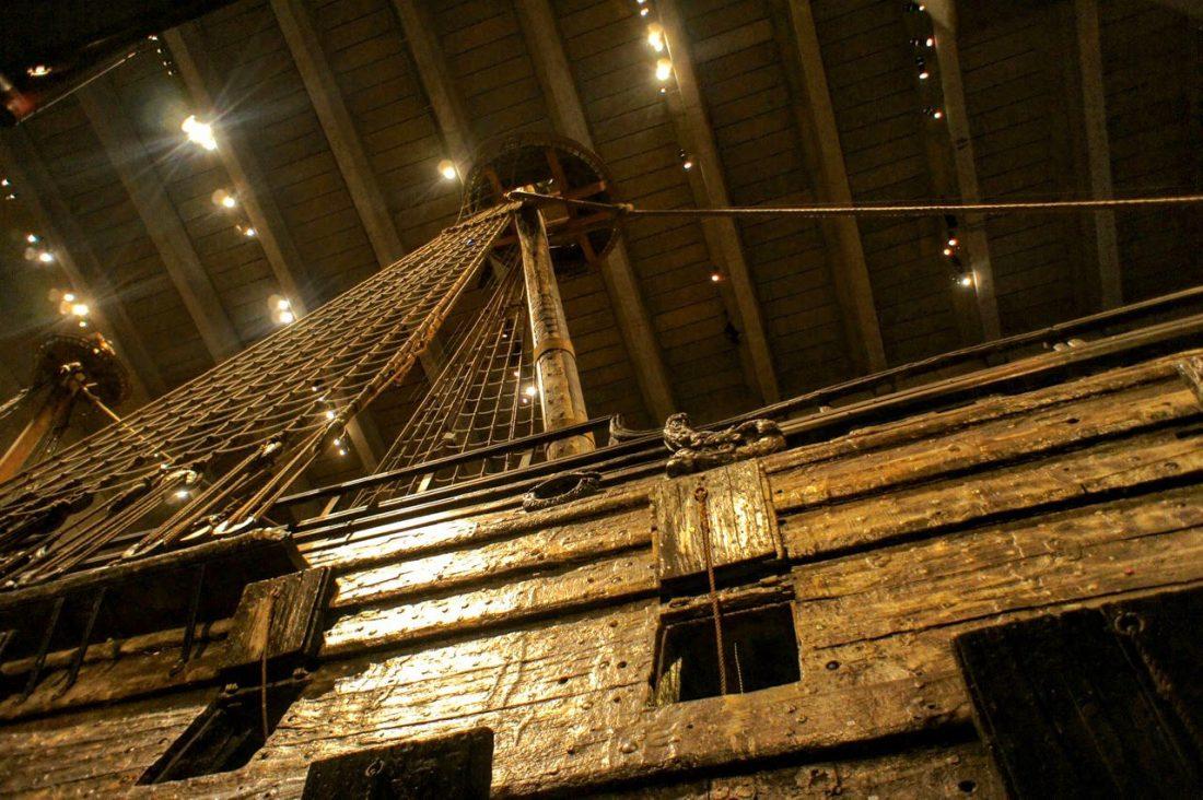 swedish warship vasa's mast