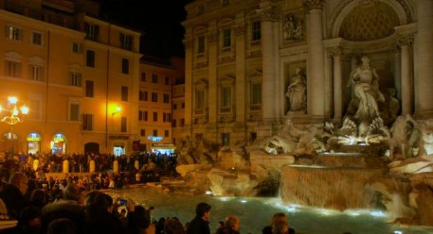 Rome's Fontana di Trevi