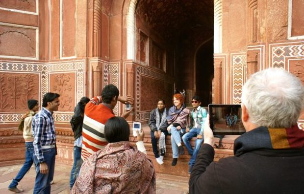 The Wonder of the Taj Mahal ;)