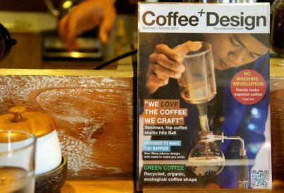 Coffee AND design at Senimen