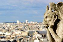 Atop the Arc de Triomphe